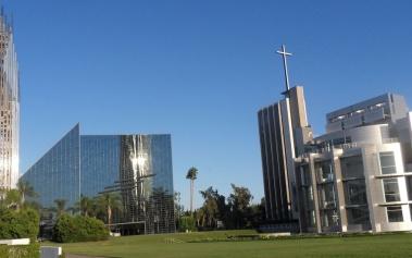 Catedrales del Mundo: Chrystal Cathedral, en California