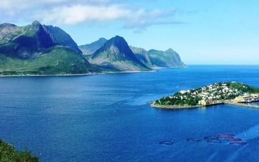 Husoy: una maravillosa isla en medio de los fiordos