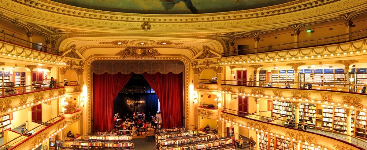 Bibliotecas Increibles: Ateneo Grand Splendid