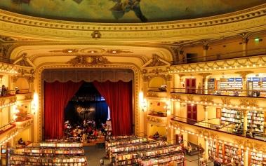 Bibliotecas Increibles: Ateneo Grand Splendid, un antiguo teatro