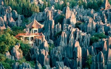 Bosque de Piedra Shilin: un místico y mágico lugar