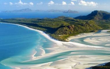 Playas Paradisiacas: Whitehaven, kilómetros de arena blanca