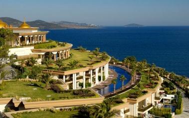 Jumeirah Bodrum Palace: un palacio en el Mar Egeo