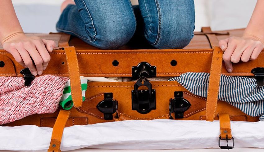 6 trucos para hacer la maleta ahorrando espacio