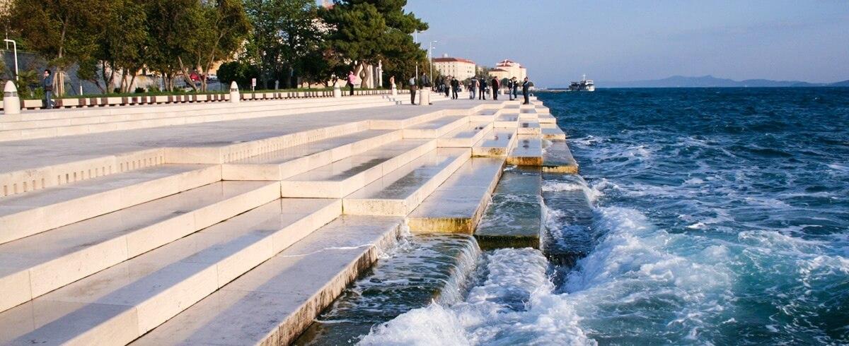 El rgano marino de zadar rock the traveller blog - Zara roquetas de mar ...