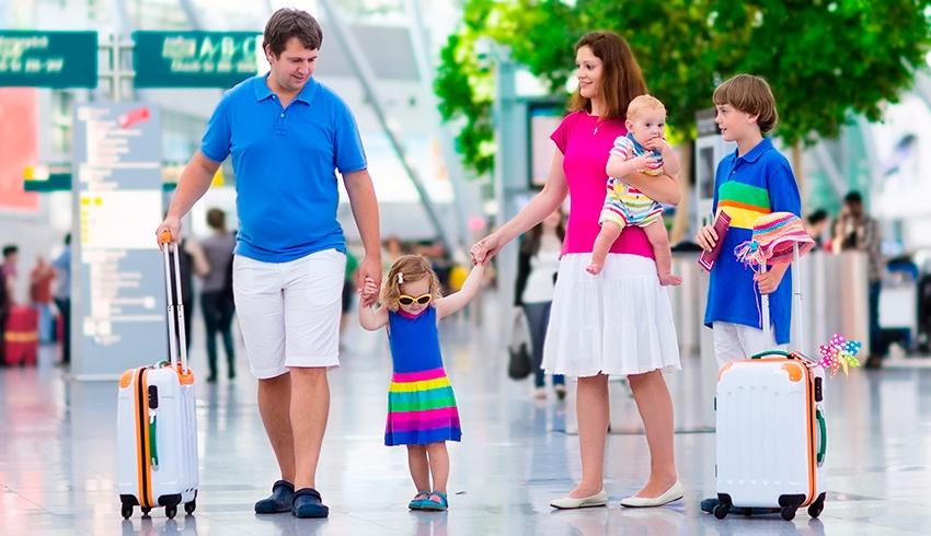 3 claves esenciales para que viajar con niños pequeños no se convierta en un desafío