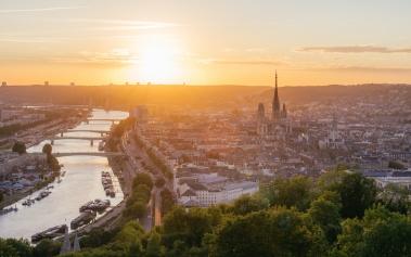 Rouen, la capital histórica de Normandía