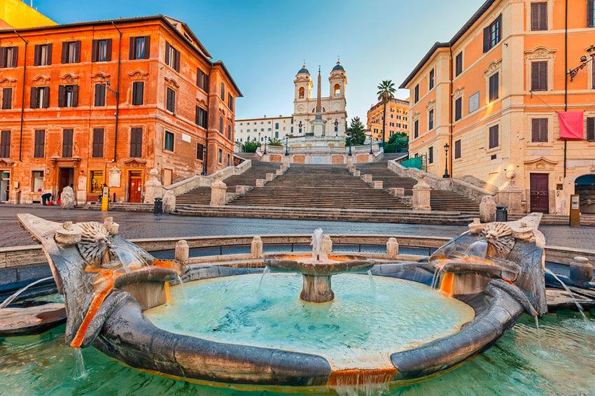5 destinos de película en Roma