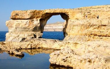 El recuerdo de la Ventana Azul de Malta