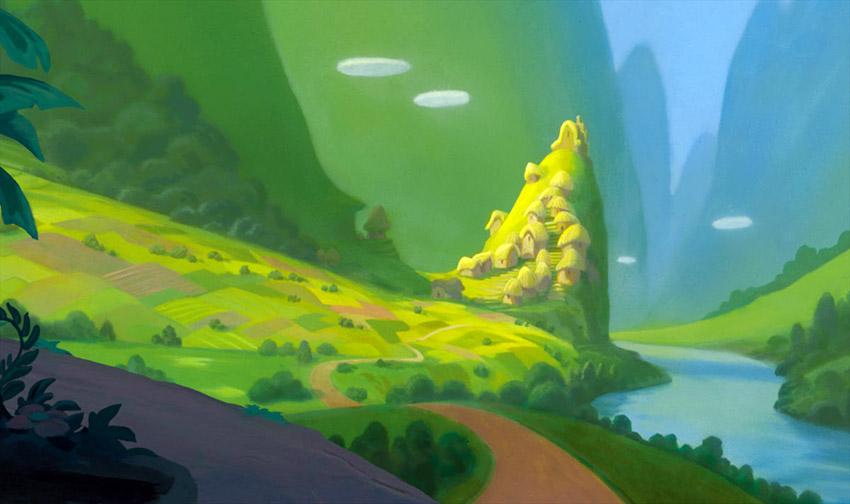 10 lugares que fueron paisajes de las películas Disney
