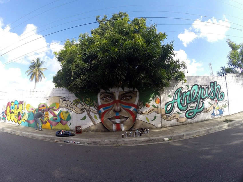 Arte callejero y naturaleza: ilusiones que te sacarán una sonrisa