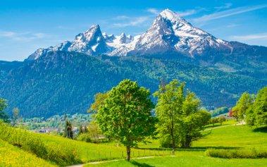 5 miradores en los Alpes con vistas increíbles