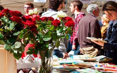 Sant Jordi, la fiesta de los libros y las rosas