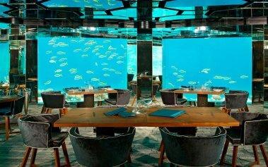 6 restaurantes submarinos para comer bajo el agua