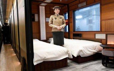 Shiki-Shima, el nuevo tren de lujo japonés