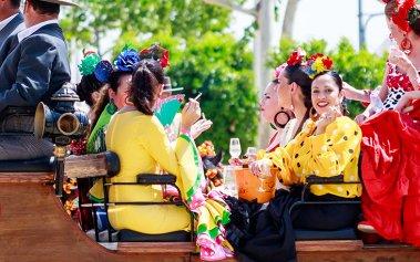 Llega la Feria de abril a Sevilla