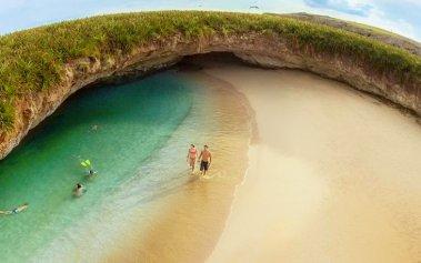 Playa Escondida: una belleza que solo pueden visitar 15 personas