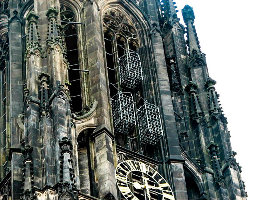 La escalofriante historia de la catedral de Lambert en Münster
