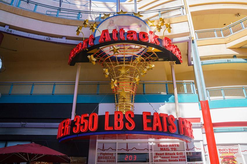 5 planes diferentes en Las Vegas