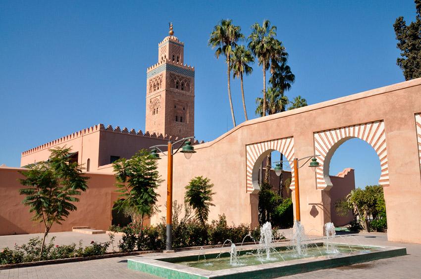 7 lugares que visitar en Marrakech