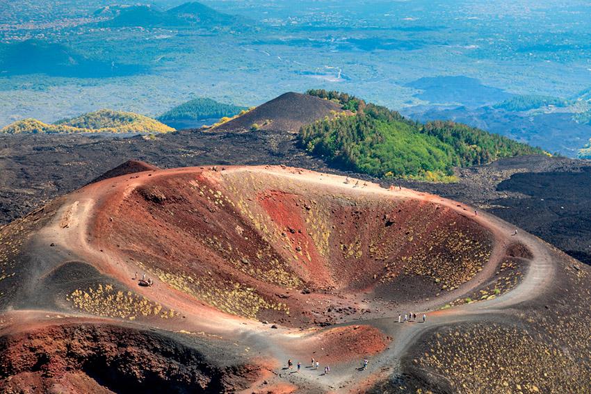 Subida al Etna y visitar Taormina de día