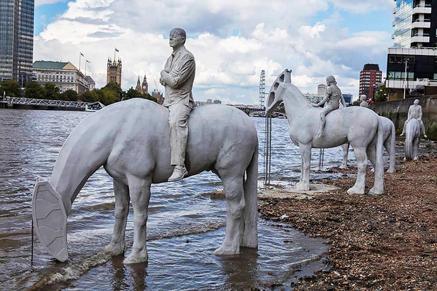 Atracciones que desaparecen durante la marea