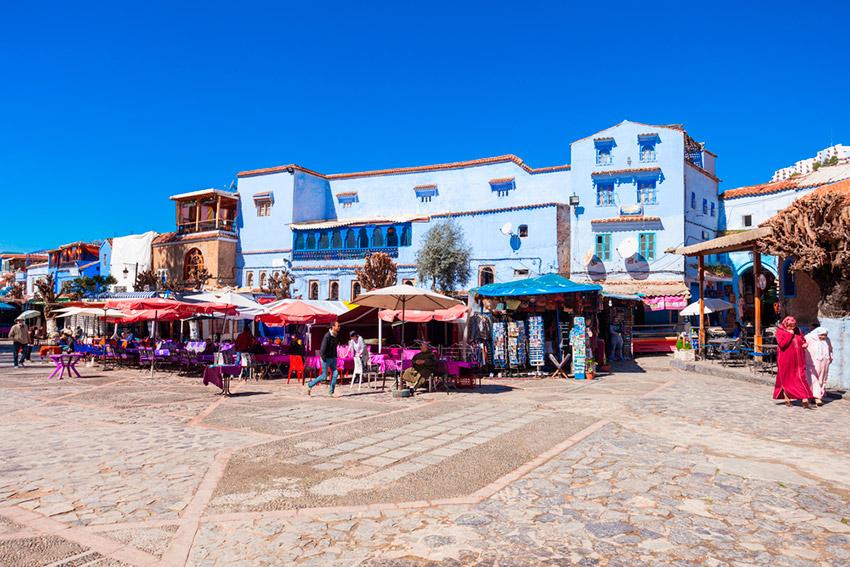Chefchaouen, la ciudad azul de Marruecos