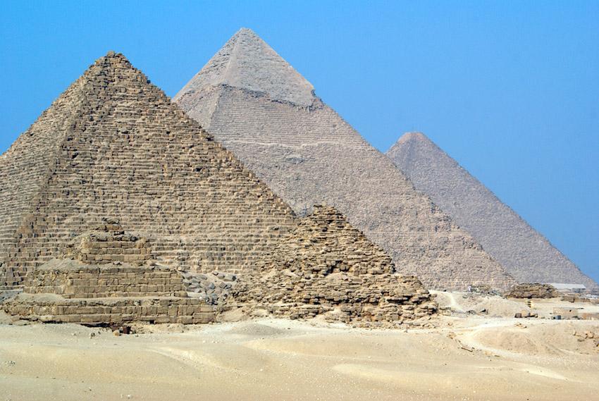 Cinco misterios de las pirámides de Egipto