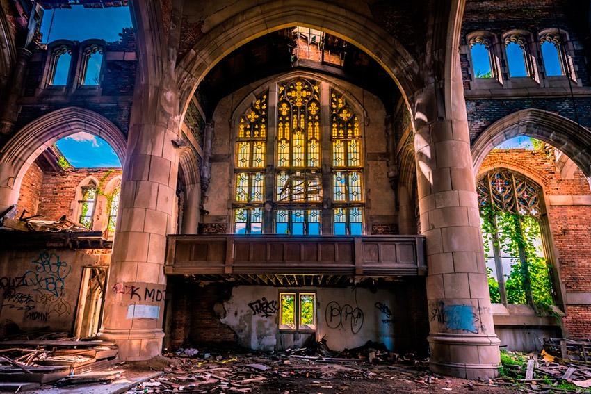 Descubre estas iglesias abandonadas alrededor del mundo