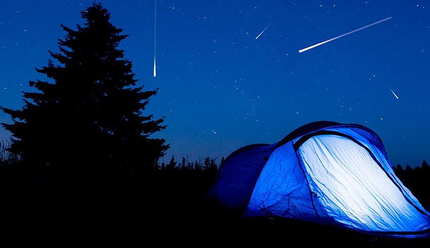 La lluvia de estrellas de las Perseidas que tendrá lugar este verano