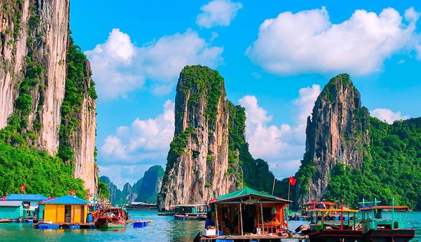 5 destinos de Asia para ir de luna de miel