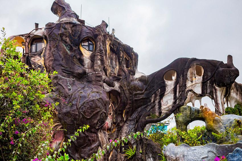 La Casa Loca de Vietnam, un hotel museo que no puedes perderte
