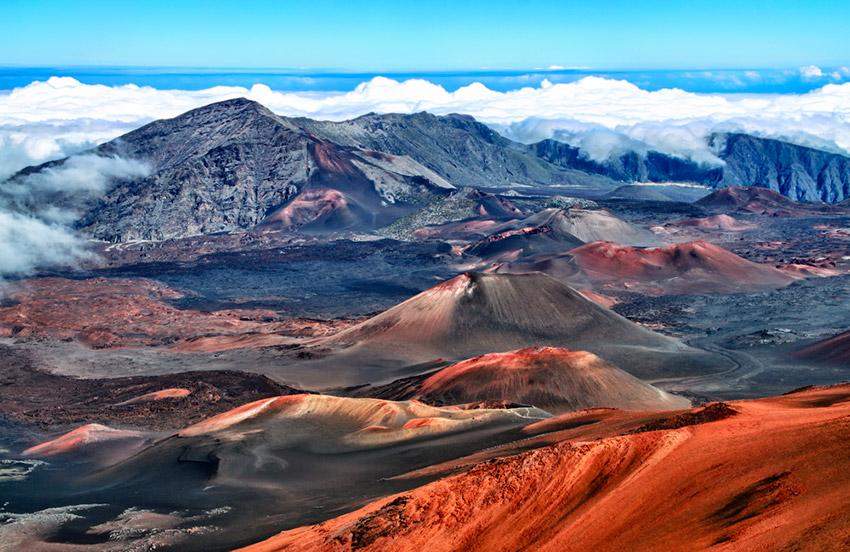 Lugares en la Tierra con paisajes de Marte
