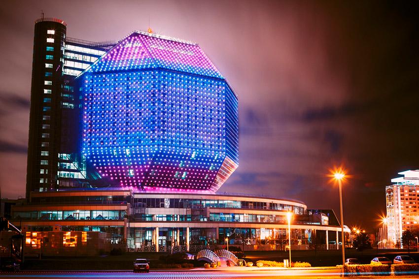 Edificios espectaculares que parecen el cuartel de un villano