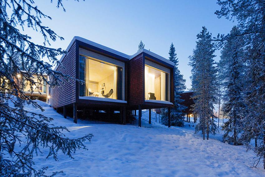 5 lugares para alojarse en la tierra de Santa Claus