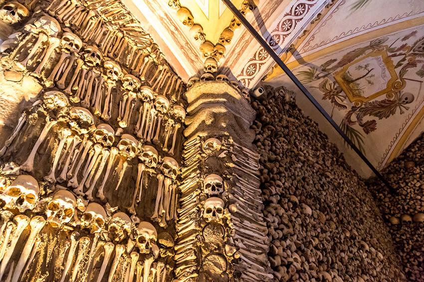 Capela dos Ossos, la iglesia más macabra del mundo