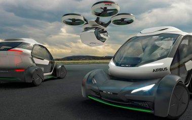 Airbus pone en práctica su primer taxi volador