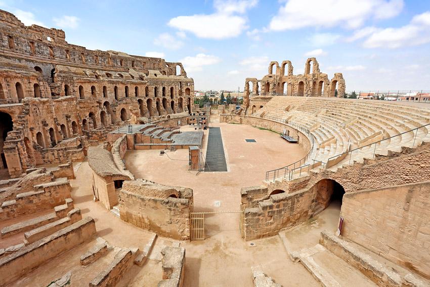 Lugares de Túnez que han permanecido intactos con el paso del tiempo