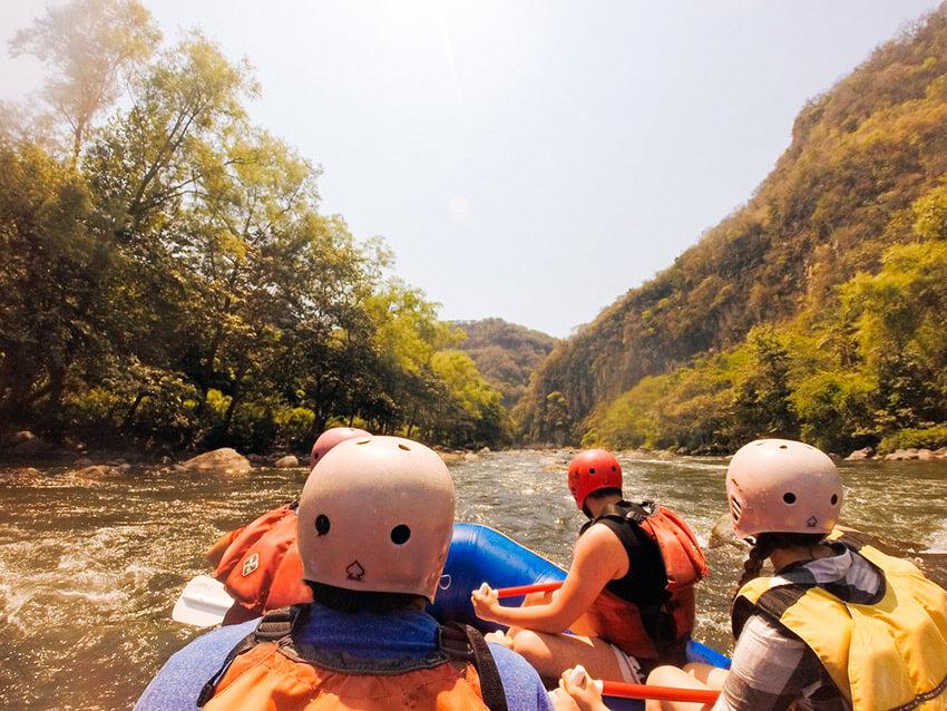 Lugares para realizar un viaje de aventura en México