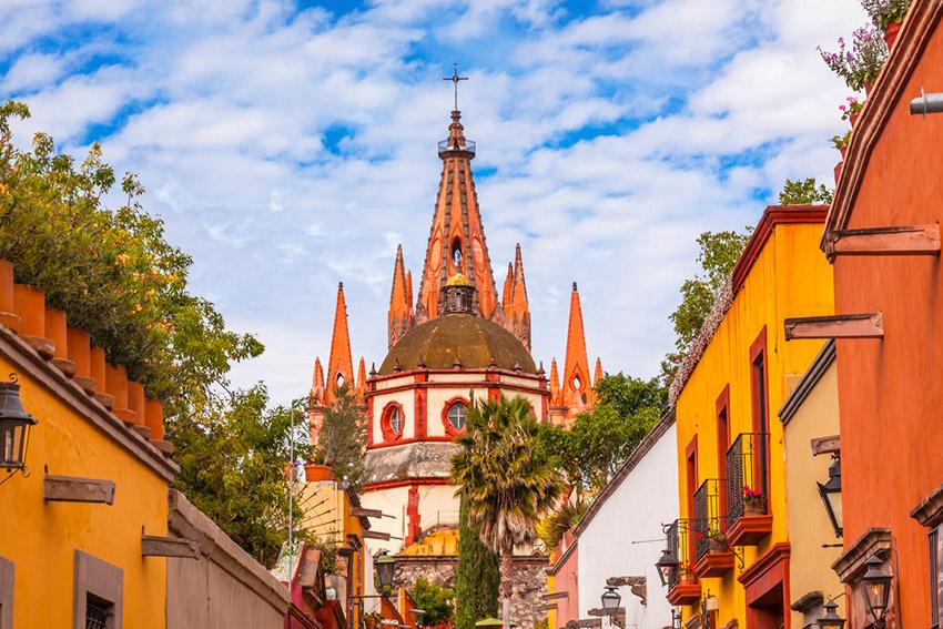Visita San Miguel de Allende con poco dinero