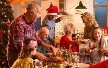 ¿Qué come la gente en la cena de Navidad en algunos países?