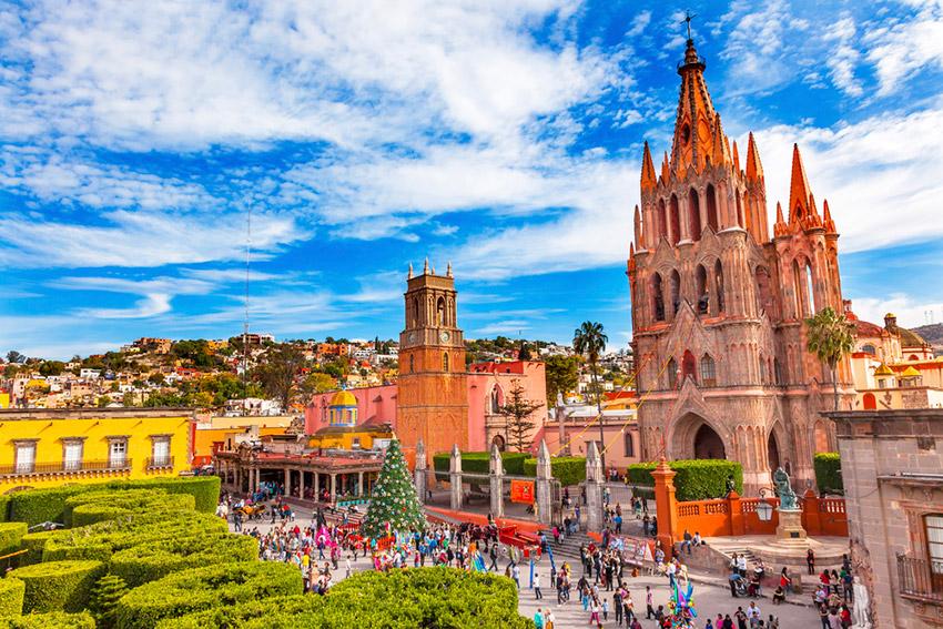 San Miguel de Allende, un lugar para celebrar San Valentín en México