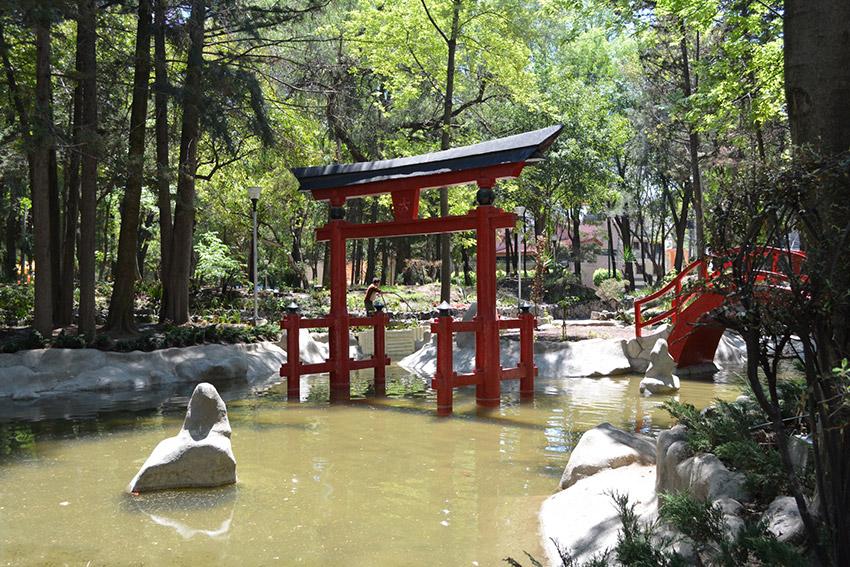 PArque Japonés, uno de lugares atípicos de México