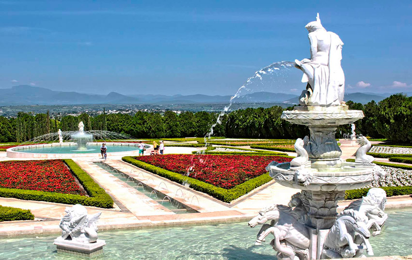 Jardines de México, uno de lugares atípicos de México