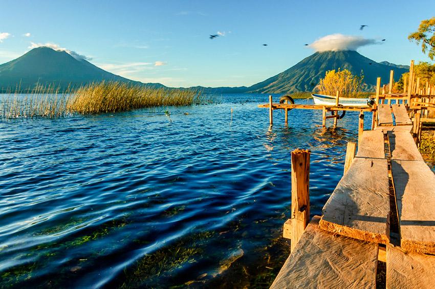 Atitlán, uno de los destinos en Latinoamérica antes de los 30