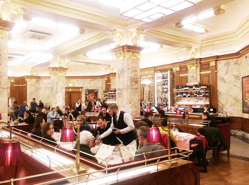 Comer barato en Londres: Brasserie Zedel