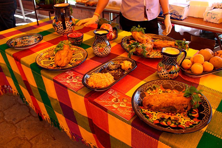 Festival Nacional del Mole, uno de los eventos de México