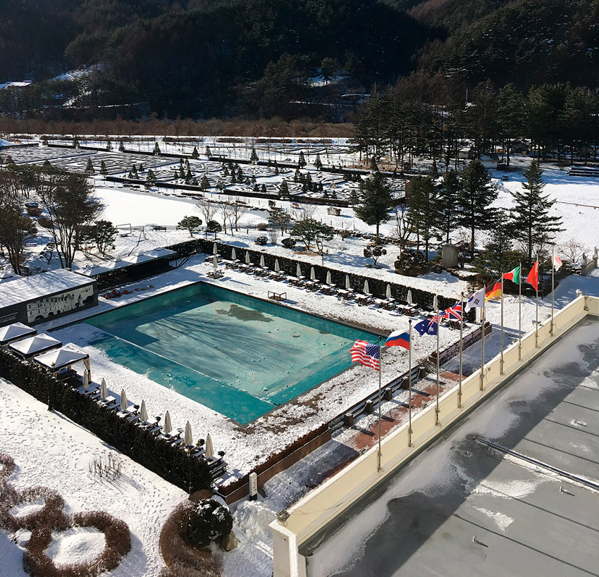 Pyeongchang Kensington Flora Hotel, uno de los hoteles para los Juegos Olímpicos de Invierno