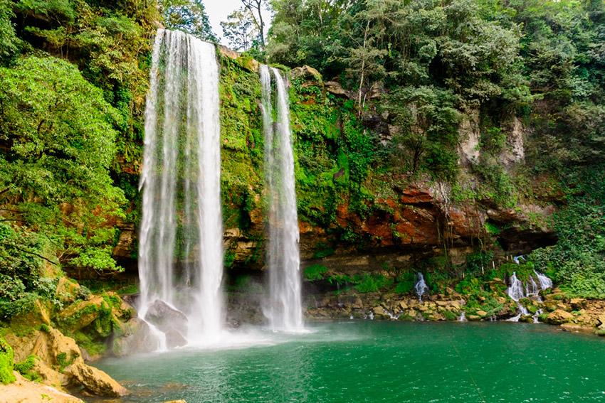Misol - Há, una de las mejores cascadas de Chiapas