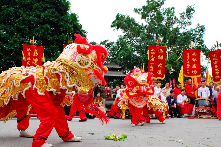 Guangzhou, una de las ciudades para vivir el Año Nuevo Chino